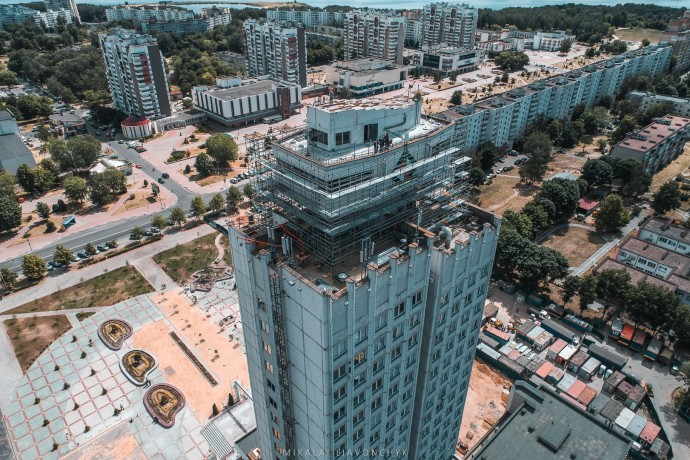 Реконструкция здания Белкалия